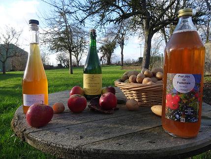 Produits cidricoles de la Ferme d'Aubigny