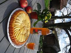 Jus de pommes du verger d'Aubigny (Haute Normandie)