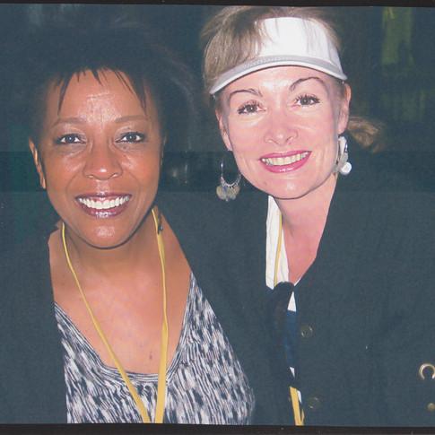 Cheryl Fisher with Dee Daniels