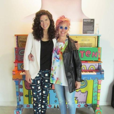 Cheryl Fisher with Laila Biali