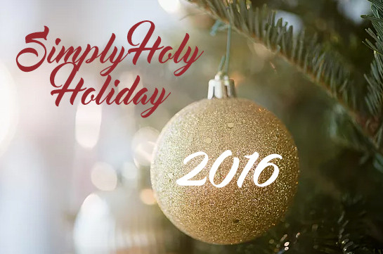Simply Holy Holiday - 2016