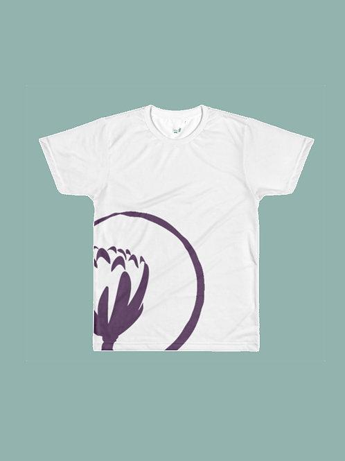 SHL Circular Print - White