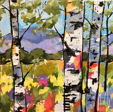 Mountain Colors I