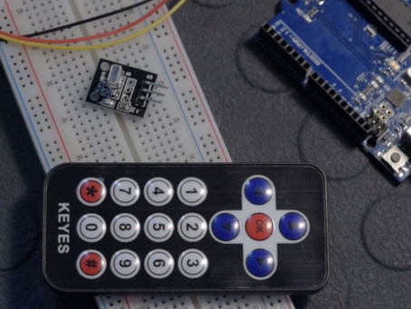 Using an IR Remote and sensor with an Arduino