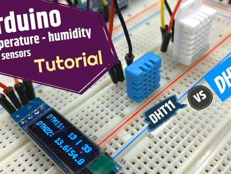 DHT11 vs DHT22… Easy to use with an Arduino but which one should you get?
