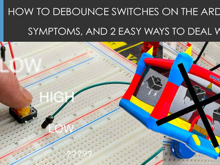 How to Debounce switches on the Arduino?