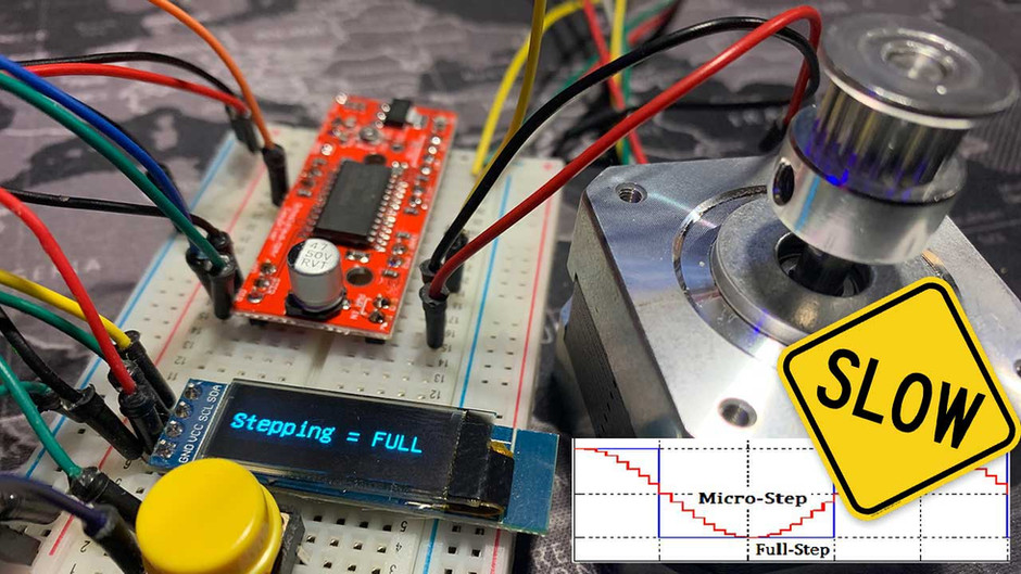 Stepper Motor MicroStepping! What to keep in mind when doing it?