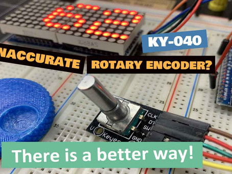 Best code to use with a KY-040 Rotary Encoder? Let's find out!