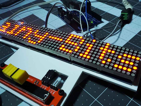 Arduino Scrolling Text v2.0 – With direction and speed control!