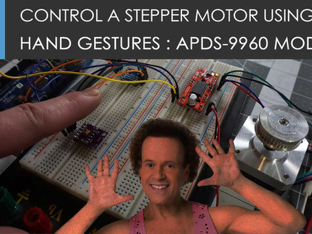 Control stuff using your hands with the APDS-9960