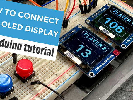 Two is Better than One! How to connect Two SPI OLED Displays