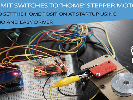 How to set the HOME position of a Stepper at Startup!