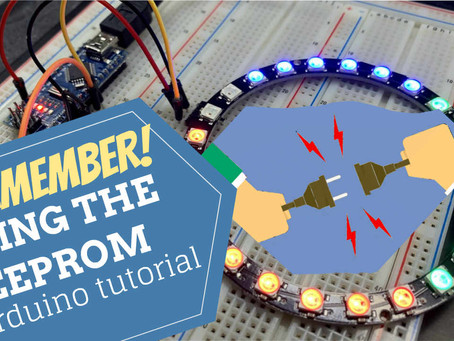 Yeah I Remember! How to use the EEPROM in case of power failure