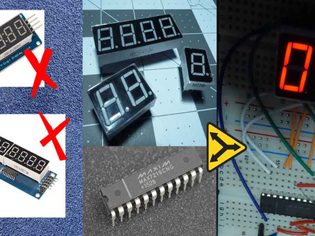 Make a simple Arduino Game Scoreboard with 7-segment Displays