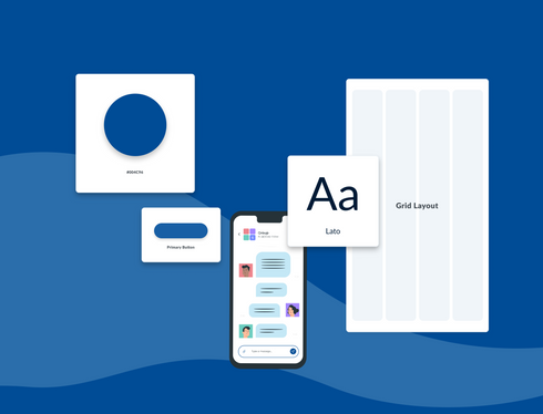 A Mobile App Design System for Old Adults