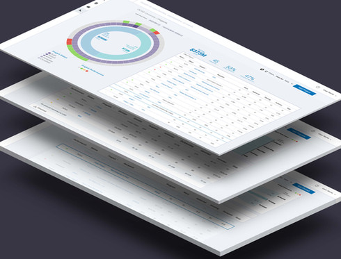 Data Visualization and Interface Design for BI Platform