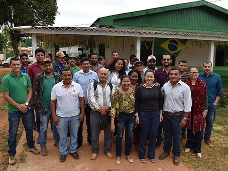 Prefeita Fernanda participa de reunião com o Conselho de Desenvolvimento Rural de Brasileia
