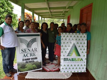 Prefeitura e SENAR realizam mais um curso na zona rural de Brasileia