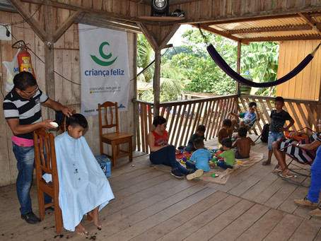 Programa Criança Feliz realiza o acompanhamento de 140 famílias em Brasileia