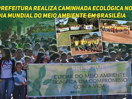 Prefeitura realiza Caminhada Ecológica no Dia Mundia do Meio Ambiente em Brasiléia