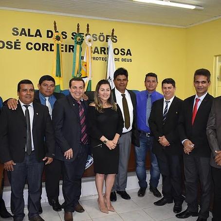 Prefeita Fernanda participa de abertura dos trabalhos do Poder Legislativo