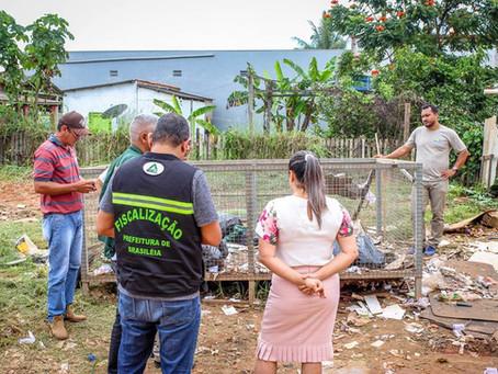 Prefeitura de Brasileia realiza operação  de conscientização e cuidados ao descarte de lixo