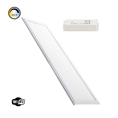 Dalle Led Wifi Dimmable CCT - 120x30cm - 40W