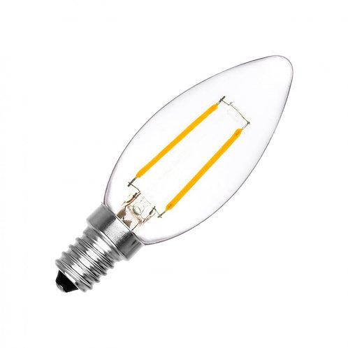 Ampoule led Flamme classic - E14 - 2W
