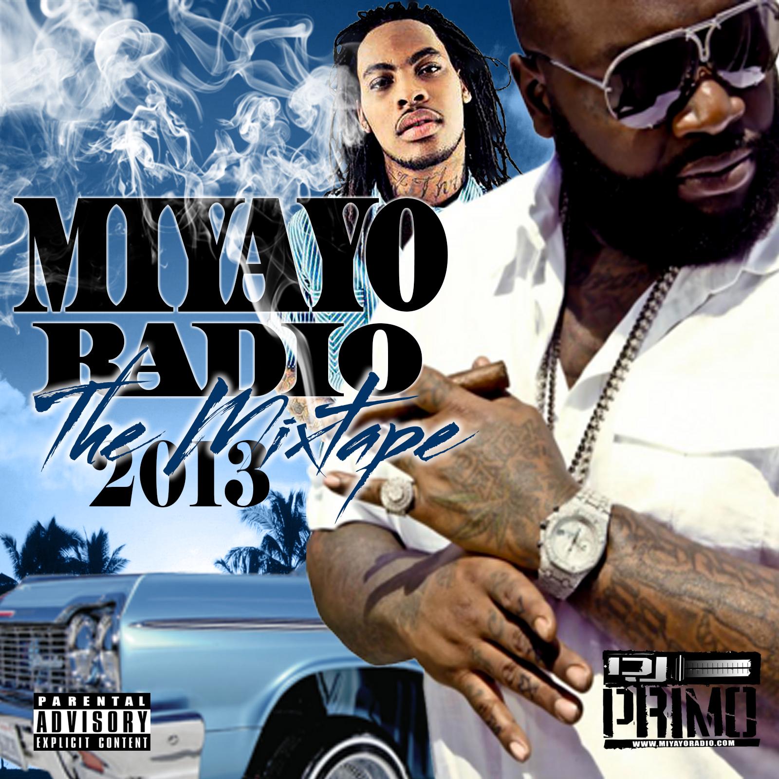 dj primo miyayo mixtape cover front