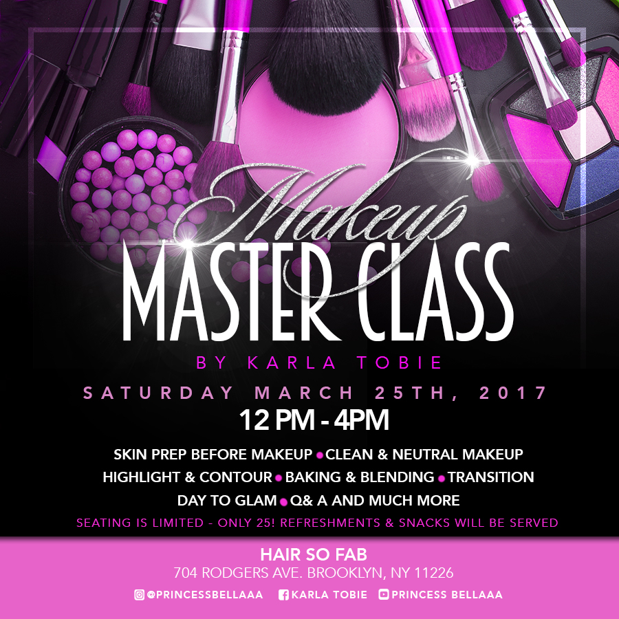 PRINCESS BELLAAA'S MASTER CLASS