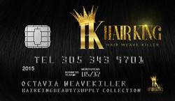 HAIRKING BUS CARD FRONT