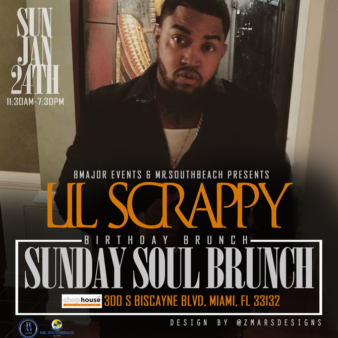 Lil Scrappy Birthday Brunch
