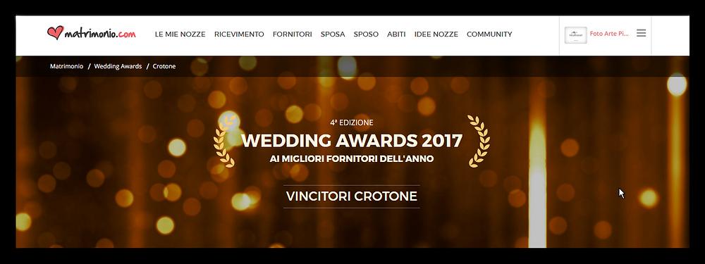 WEDDINGS AWARDS 2017- matrimonio.com