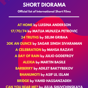 2nd list of films in 'Shorts Diorama' films of Diorama International Film Festival