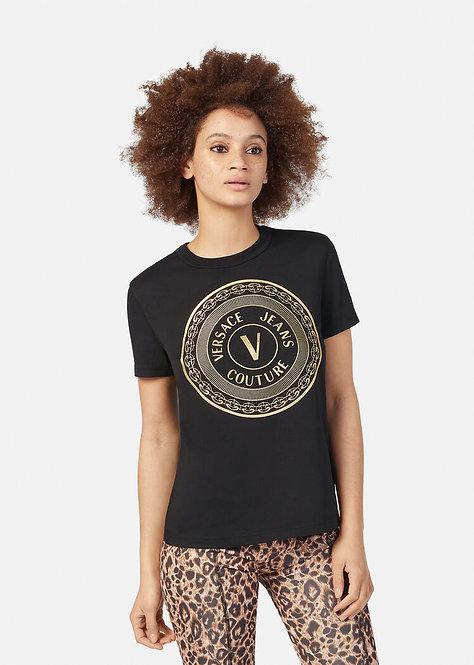 T-shirt con stampa V-Emblem