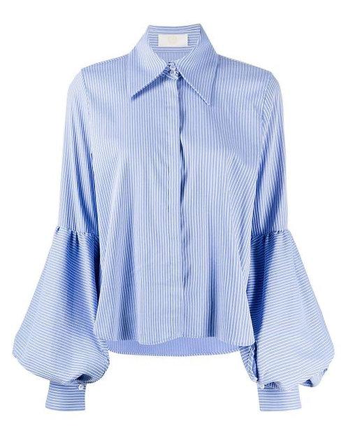 Camicia con manica ampia
