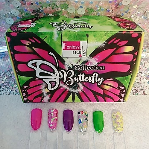 Butterfly Fantasy Nails