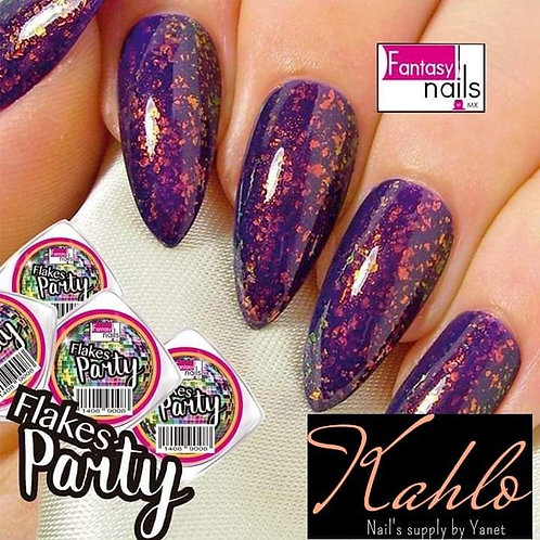 flakes Party acrylic powder