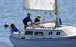 Veterans' Sail to Recovery - Veteran at the helm