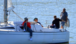 Veterans' Sail to Recovery - A few moments of relaxation