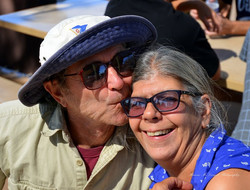 Veterans' Sail to Recovery - Veteran Couple having a wonderful time