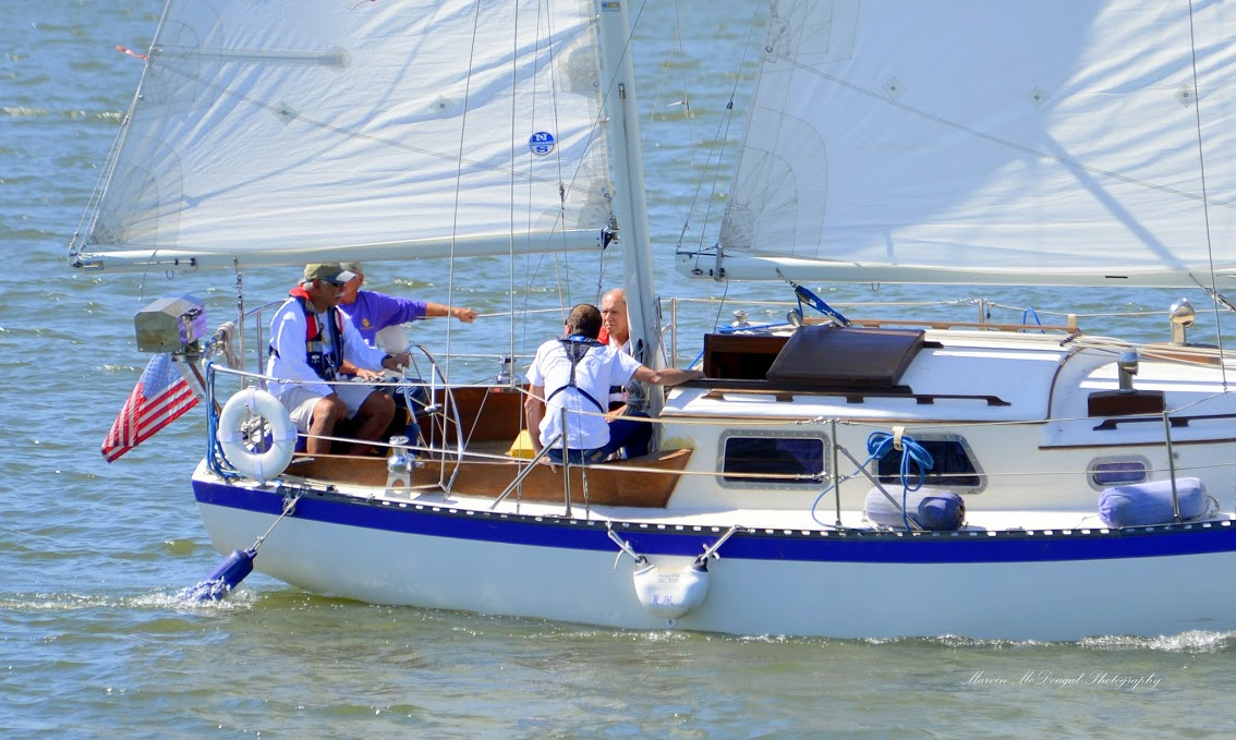 Veterans' Sail to Recovery - a few instructions in sailing