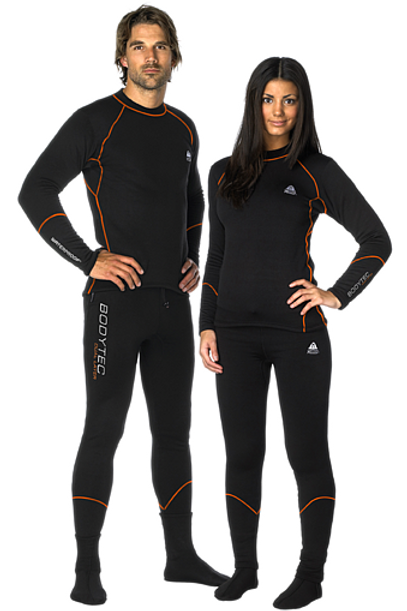 SOTTOMUTA WATERPROOF BODYTEC DUAL LAYER combinato UNISEX  (maglietta+pantaloni)