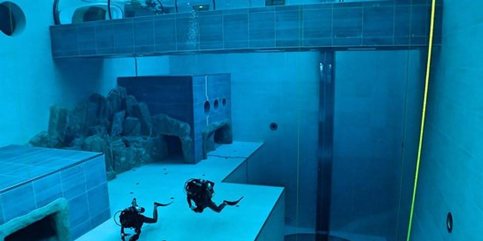 Y-40 - piscina più profonda del mondo con acqua termale -