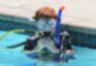 Prove subacquee per bambini