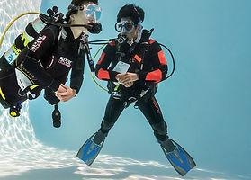 DSD prova subacquea