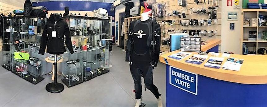 vendita attrezzatura sub como