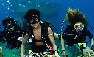 junior advanced open water diver como