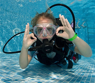 junior open water diver como
