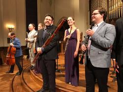 with Frisson Ensemble in Lexington, KY